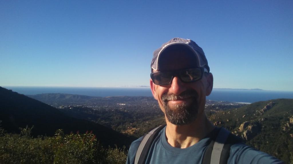 hiking Santa Barabara
